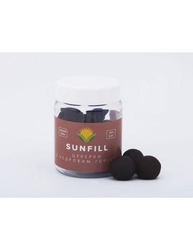 Конфеты с кедровым орехом, Sunfill, 160г