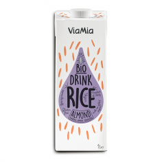 Напій рисовий з мигдалем, Via Mia, 1000мл