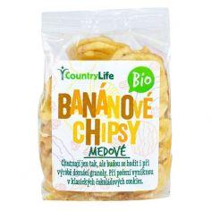 Чіпси бананові, Country Life, 100г