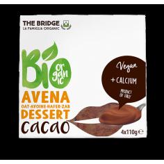 Десерт вівсяний з какао, Bridge, 110г