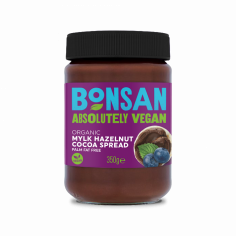 Паста шоколадна з лісовим горіхом, Bonsan, 350г