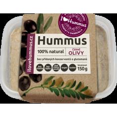 Хумус з чорними оливками, Ilovehummus, 150г