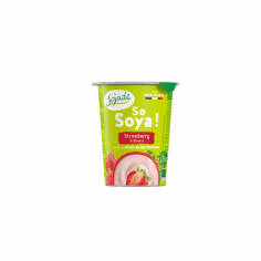 Йогурт соєвий полуничний органічний, Sojade, 125г