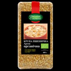 Крупа пшеничная Артек, Украина, Organic Country, 400г
