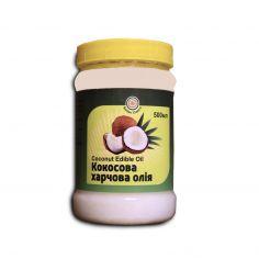Олія кокосова нерафінована, Golden Chakra, 500мл
