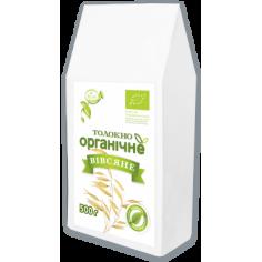 Толокно органічне вівсяне, Козуб Продукт, 500г
