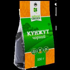 Кунжут черный, NATURAL GREEN,100г