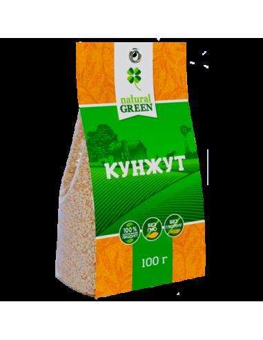Кунжут, NATURAL GREEN, 100г