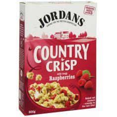 """Кранчі з Малиною """"Country Crisp"""", Jordans, 500г"""