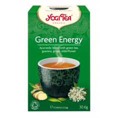 "Чай ""Green Energy"", Yogi Tea, пакет, 1,8г"