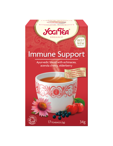 "Чай ""Immune Support"", Yogi Tea, пакет, 2 г"