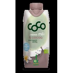 Молоко кокосове з какао органічне, Dr