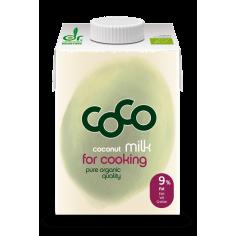Молоко кокосове кулінарне органічне, Dr