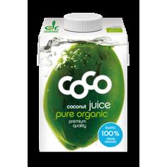 Сік кокосовий органічний, Dr