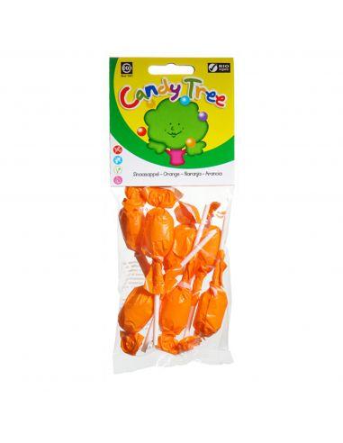 Льодяник на паличці апельсиновий Candy Tree, 10г