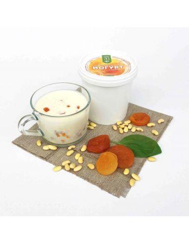 Йогурт соєвий з курагою, Зелена Їжа, 500г