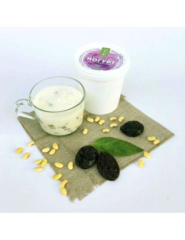 Йогурт соєвий з чорносливом, Зелена Їжа, 500г