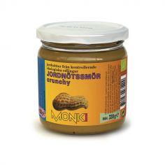 Паста арахісова кранч органічна, Monki, 330г