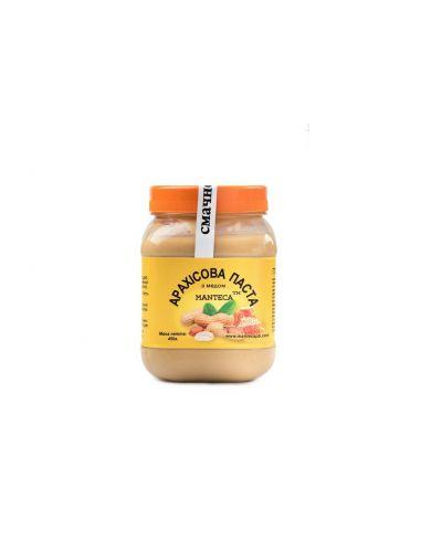Паста арахісова з медом, Manteca, 450г