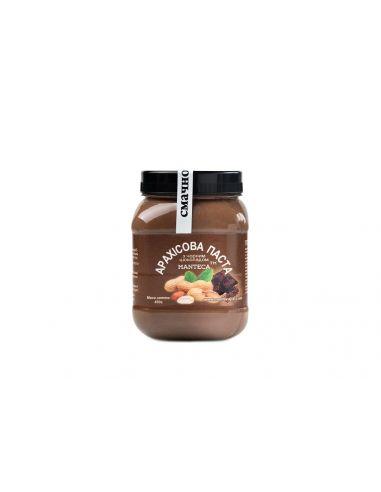 Паста арахісова з чорним шоколадом, Manteca, 450г