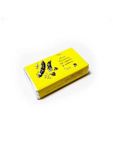 Міні плитка на керобі з медом, Корка Хлеба, 13г