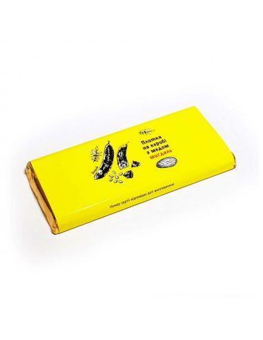 Плитка на керобі з медом (Мигдаль), Корка Хлеба, 50г