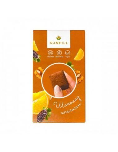 Цукерки шоколадні з апельсином,...