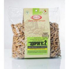"""Макароны """"Здоровье"""", № 2 тв.сорт пшеницы с рж.отр, 400г."""