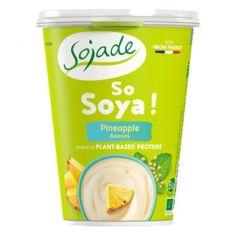 Йогурт соєвий ананас органічний, Sojade, 400г