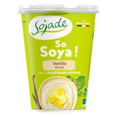 Йогурт соєвий ваніль органічний, Sojade, 400г