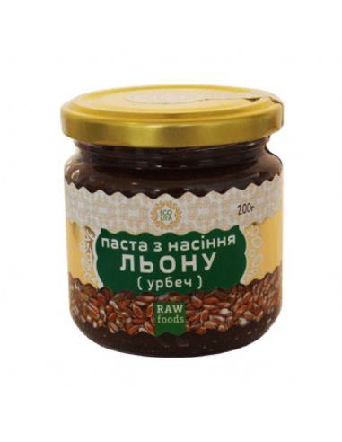 Паста Урбеч з насіння льону, EcoLiya,...