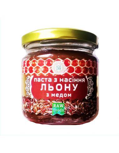 Паста з насіння льону з медом,...
