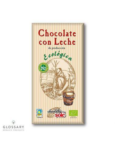 Шоколад молочный органический, Sole,...