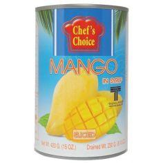 Манго дольки в сиропе, 420г