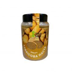 Паста арахісова кранч без цукру, SoloSvit, 400г