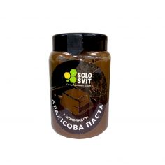Паста арахісова з шоколадом без цукру, SoloSvit, 400г