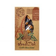 Плитка на керобі з мигдалем без цукру, Afrodiziak, 80г