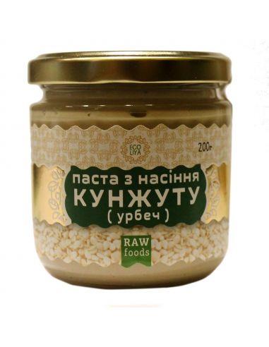 Паста з насіння кунжуту, EcoLiya, 200г