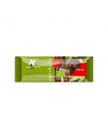 Батончик из кэроба с лесными орехами, Molenaartje, 40г