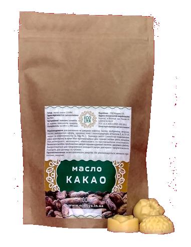 Масло какао, EcoLiya, 100г