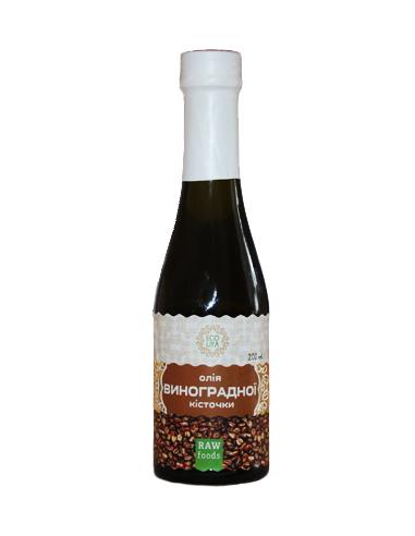 Олія виноградної кісточки, EcoLiya, 200г