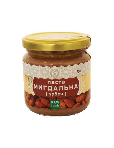Паста мигдальна, EcoLiya, 200г