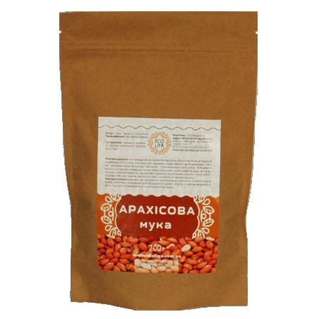 Борошно арахісове, EcoLiya, 200г