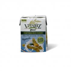 Вершки рисові кулінарні, Vitariz, 200мл