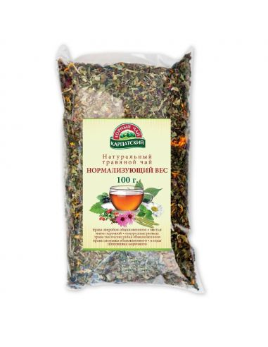 Чай нормалізуючий вагу, Карпатський гірський чай, 100г