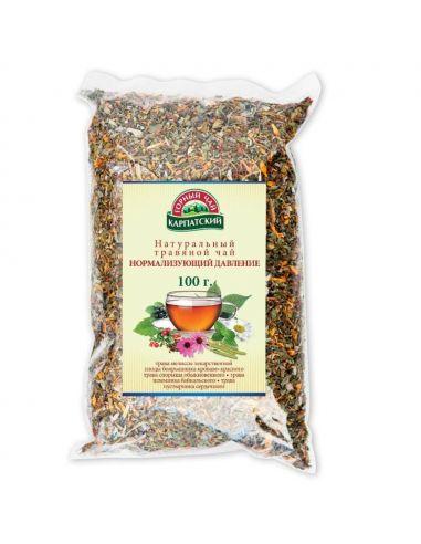 Чай нормалізуючий тиск, Карпатський Гірський чай, 100г