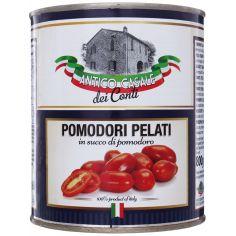 Томати цілі очищені органічнів томатному соусі ж/б, Antico Casale, 800 г