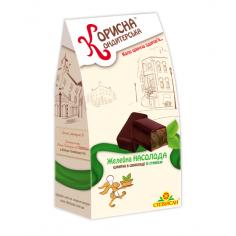 """Шоколадні цукерки """"Насолода"""", Корисна Кондитерська, 150 г"""