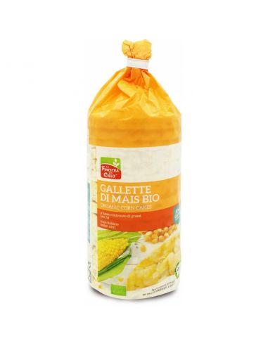 Коржі кукурудзяні без глютену з сілью, La Finestra, 100г