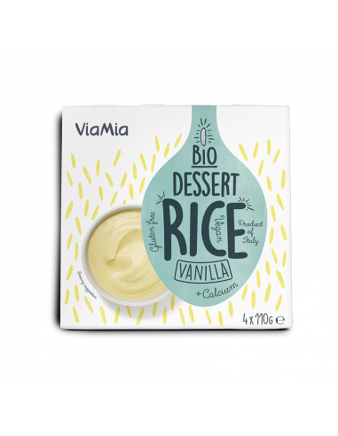 Десерт рисовий Ваніль, Via Mia, 110г